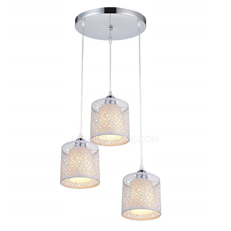 3 Light Circle Ceiling Plate Japanese Pendant Lights Regarding Most Recently Released Pendant Lights For Ceiling Plate (#4 of 15)