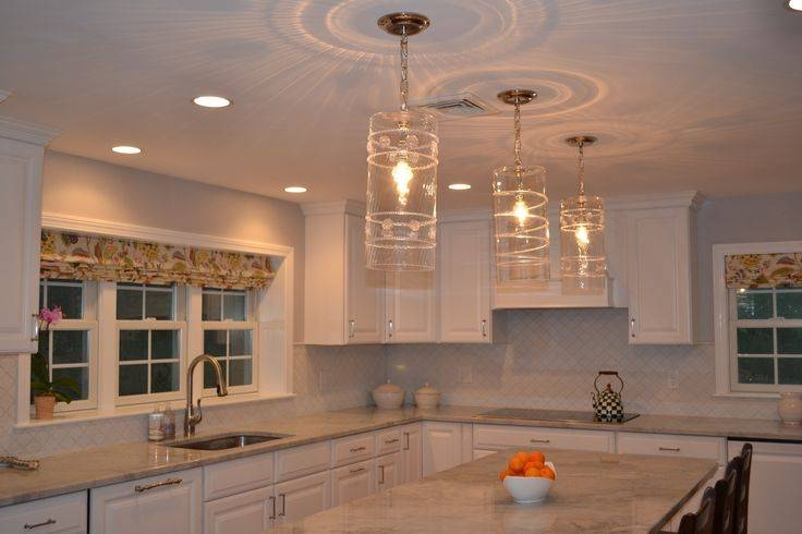 3 Light Kitchen Island Pendant Lighting Fixture Home Design In Current 3 Pendant Lights For Kitchen Island (#1 of 15)