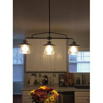 3 Light Kitchen Island Pendant Lighting Fixture Home Design With Regard To Recent 3 Pendant Lights For Kitchen Island (#2 of 15)