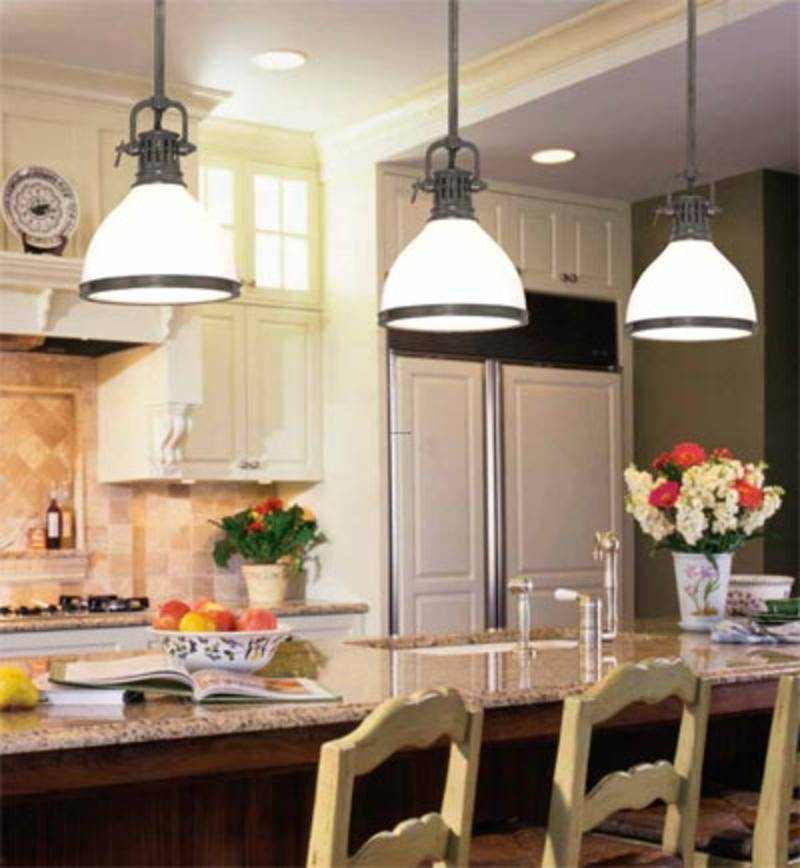 Inspiration about 3 Light Pendant Island Kitchen Lighting | Design Of Your House Regarding Best And Newest 3 Light Pendants For Island Kitchen Lighting (#9 of 15)