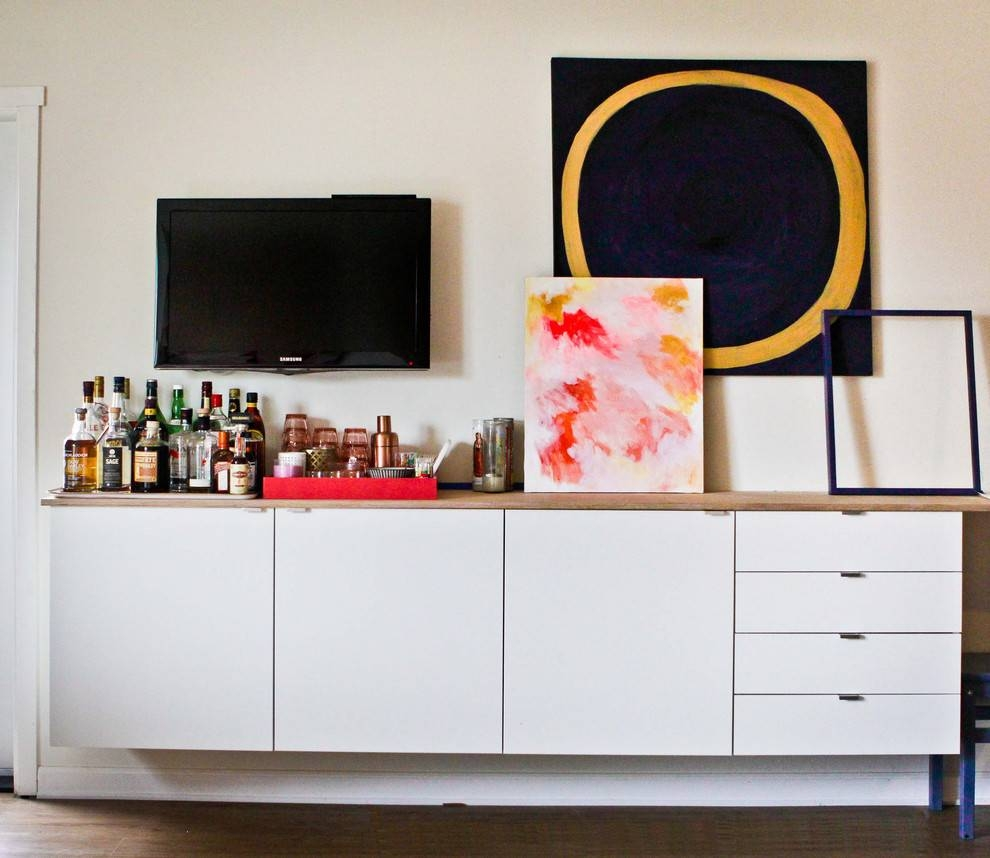 45 Ways To Use Ikea Besta Units In Home Décor – Digsdigs With Newest Ikea Besta Sideboards (#2 of 15)