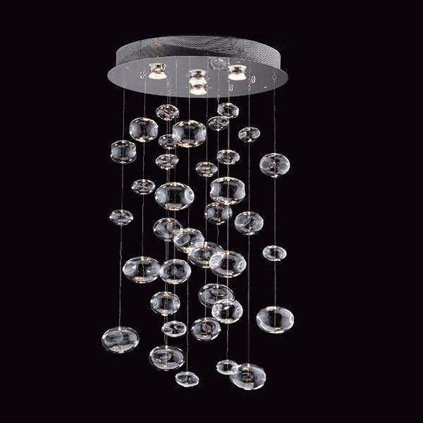 5605 4 Light Bubbles Hanging Large Pendant – Lighting Universe Pertaining To Most Recent Bubble Pendant Light Fixtures (#2 of 15)