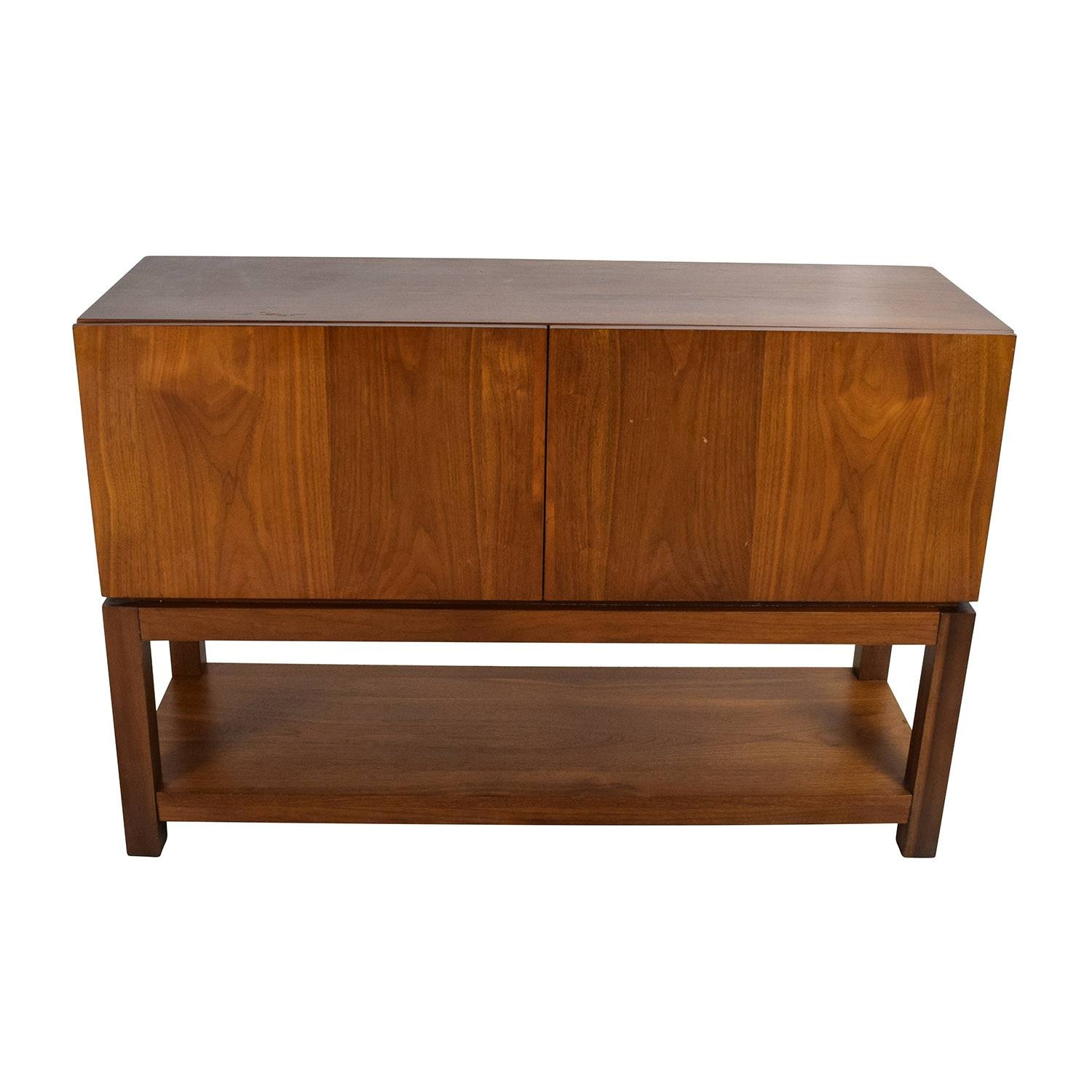 Inspiration about 59% Off – West Elm West Elm Parsons Buffet / Storage For Most Up To Date West Elm Sideboards (#7 of 15)