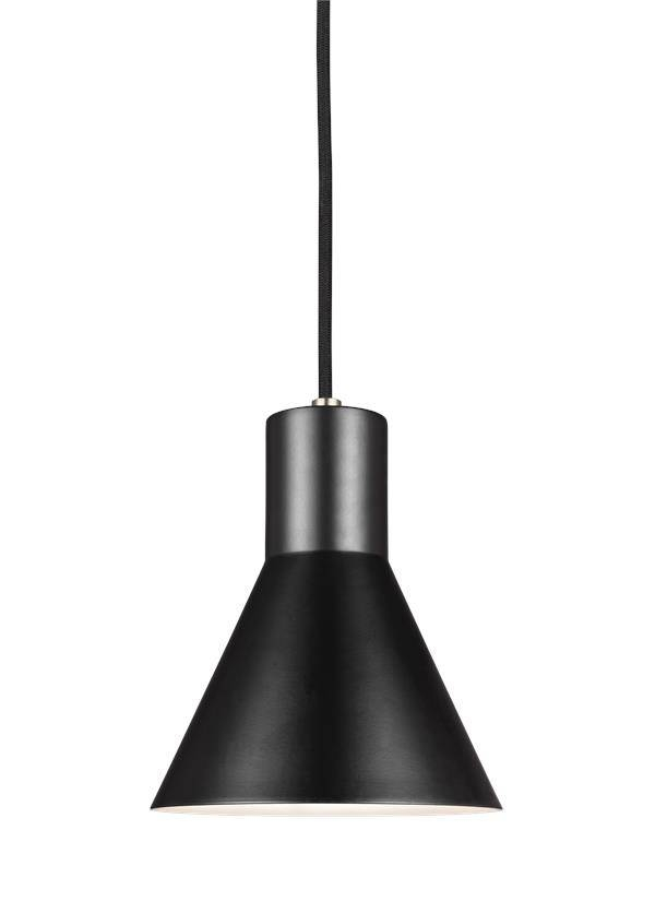 Inspiration about 6141301En 848,one Light Mini Pendant,satin Bronze Regarding 2017 Black Mini Pendant Lights (#9 of 15)