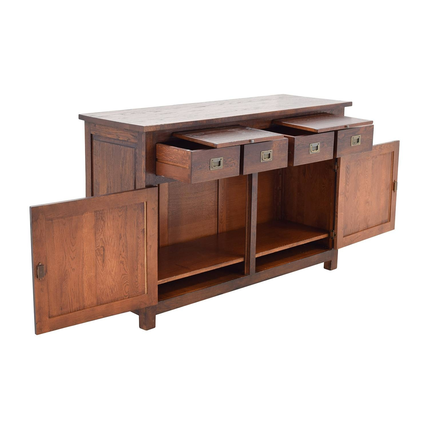 Inspiration about 67% Off – Crate And Barrel Crate & Barrel Bordeaux Buffet For 2018 Crate And Barrel Sideboards (#2 of 15)