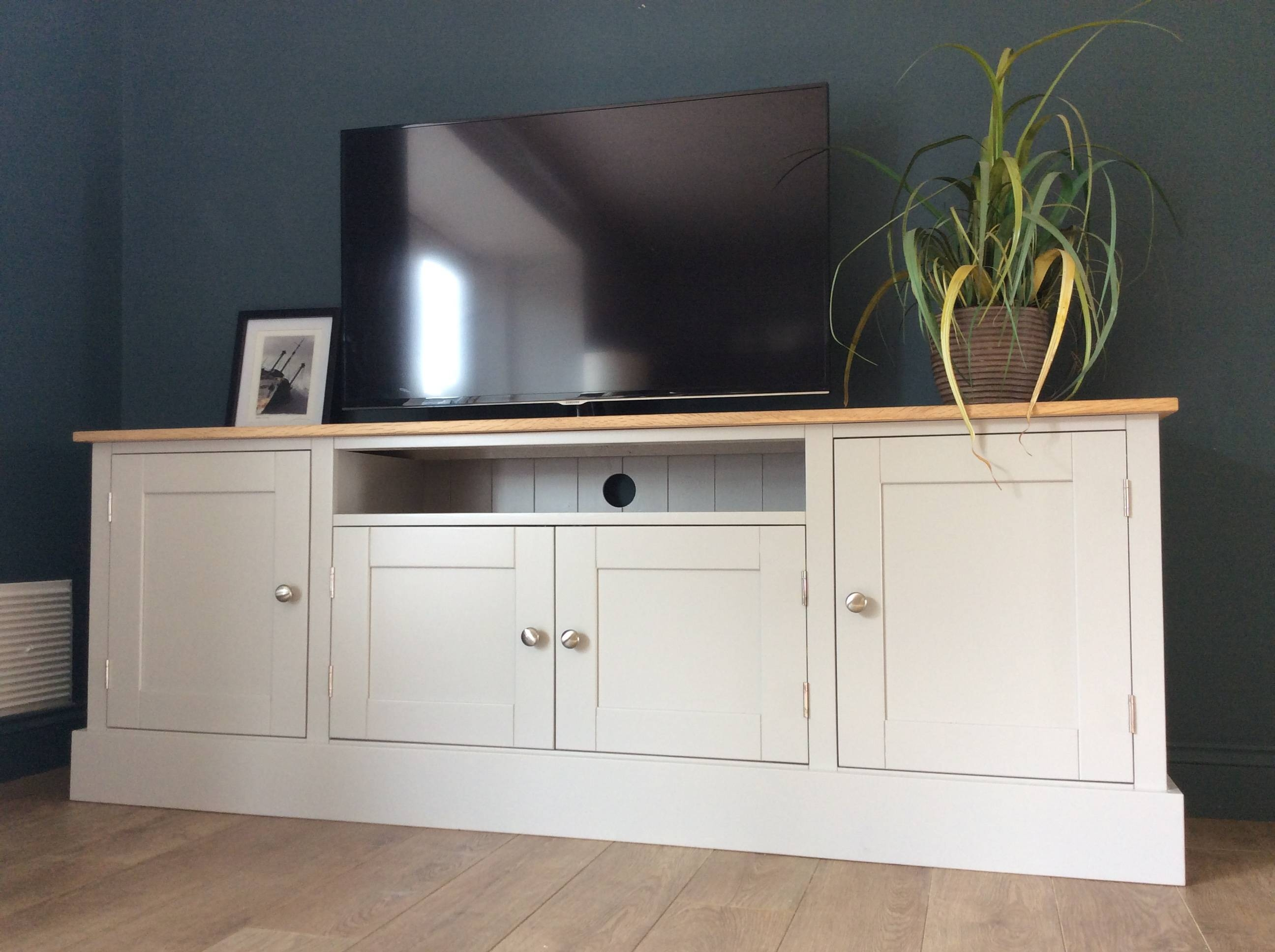 Inspiration about 6Ft Solid Pine & Oak Tv Cabinet – Nest At Number 20 Pertaining To Most Current Sideboards And Tv Units (#9 of 15)