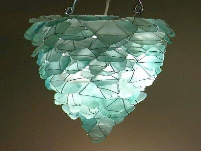 15 Best Of Sea Glass Pendant Lights