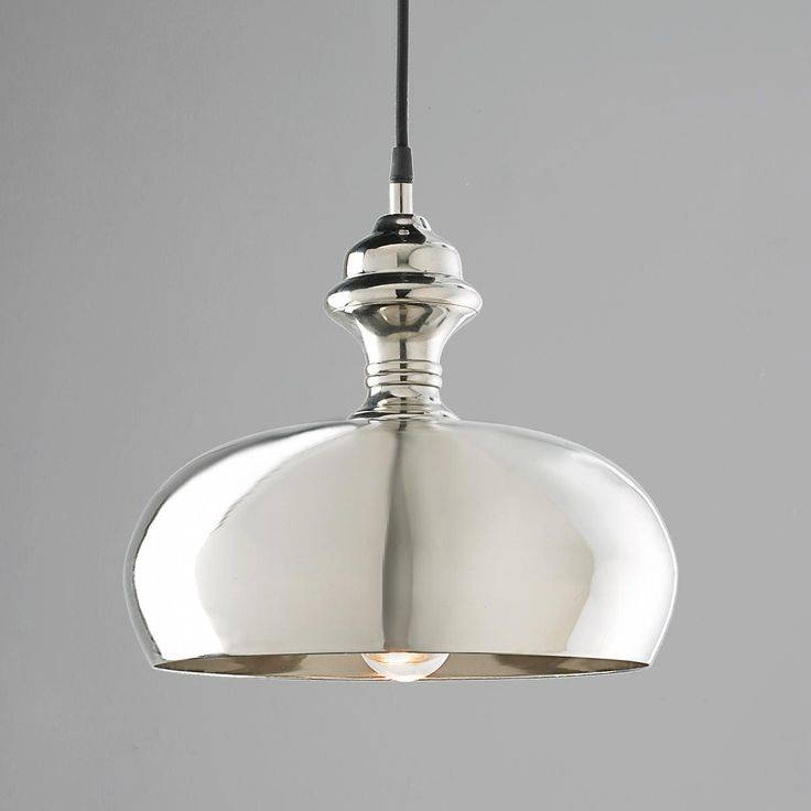 72 Best Modern Metallics Images On Pinterest | Kitchen Lighting Pertaining To Newest Silver Kitchen Pendant Lighting (View 14 of 15)