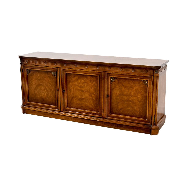 74% Off – Vintage Buffet Server / Storage Regarding Most Up To Date Vintage Sideboards (#1 of 15)