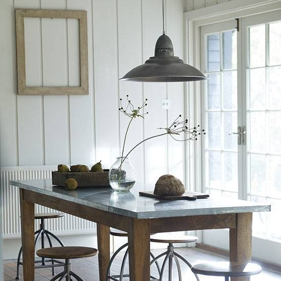 8 Pendant Lights To Brighten Your Country Kitchen   Ideal Home Within Recent Country Pendant Lighting For Kitchen (View 12 of 15)