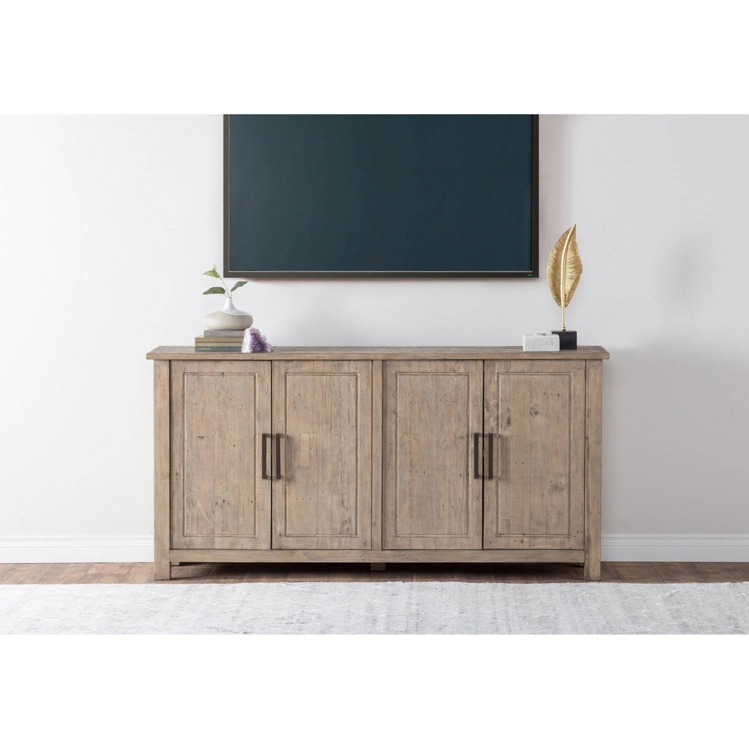 Aires Reclaimed Wood 72 Inch Sideboardkosas Home – Free Throughout Most Current 72 Inch Sideboards (#2 of 15)