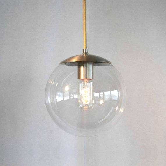 Alluring Clear Globe Pendant Light Stunning Pendant Design Ideas In Latest Clear Globe Pendant Lights (#1 of 15)