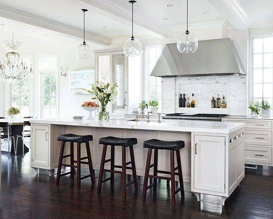 Alluring Kitchen Pendant Lighting Over Island And Best 25 Kitchen With Recent Pendant Lighting Over Island (#2 of 15)