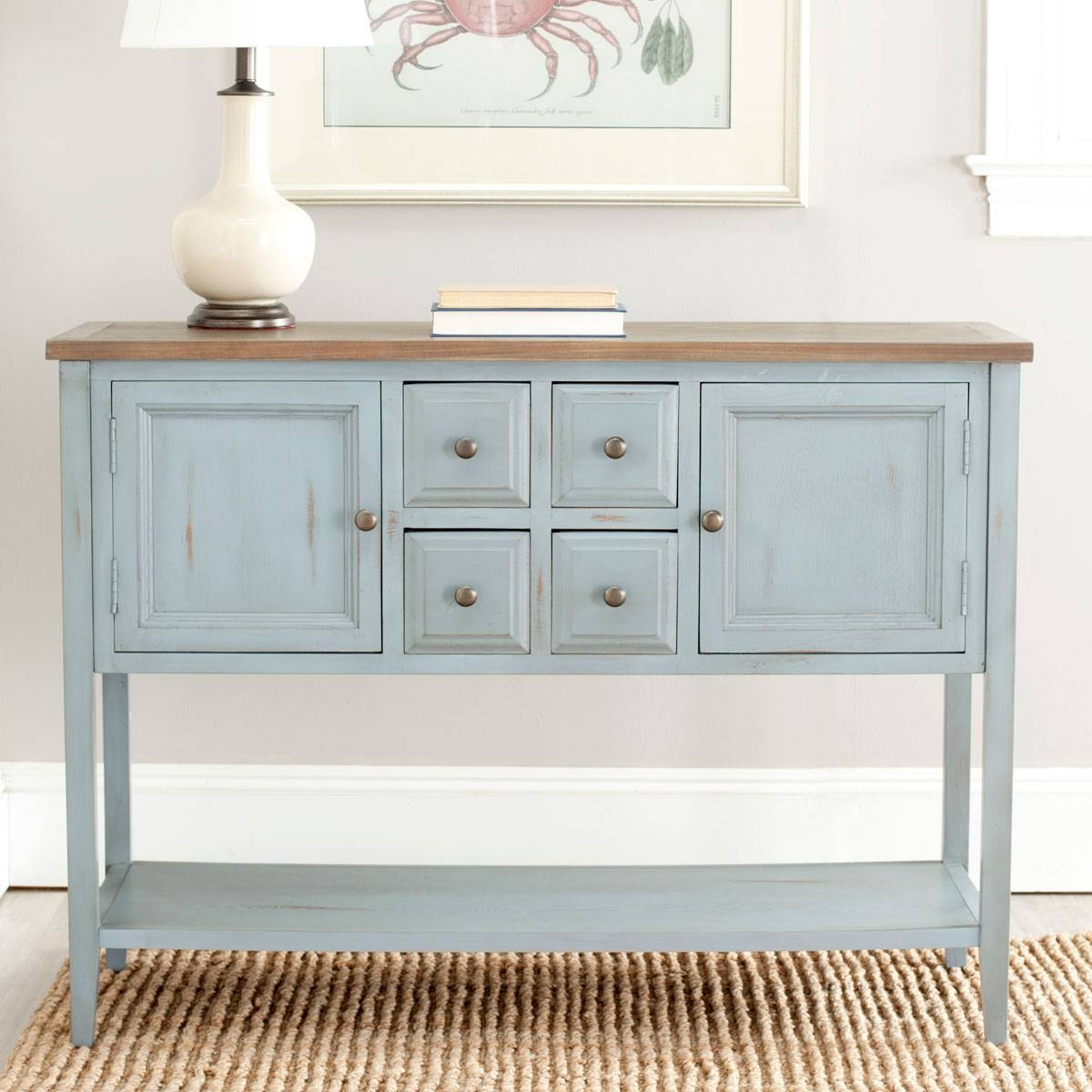 Amh6517B Consoles – Furnituresafavieh Intended For Most Popular Safavieh Sideboards (#1 of 15)