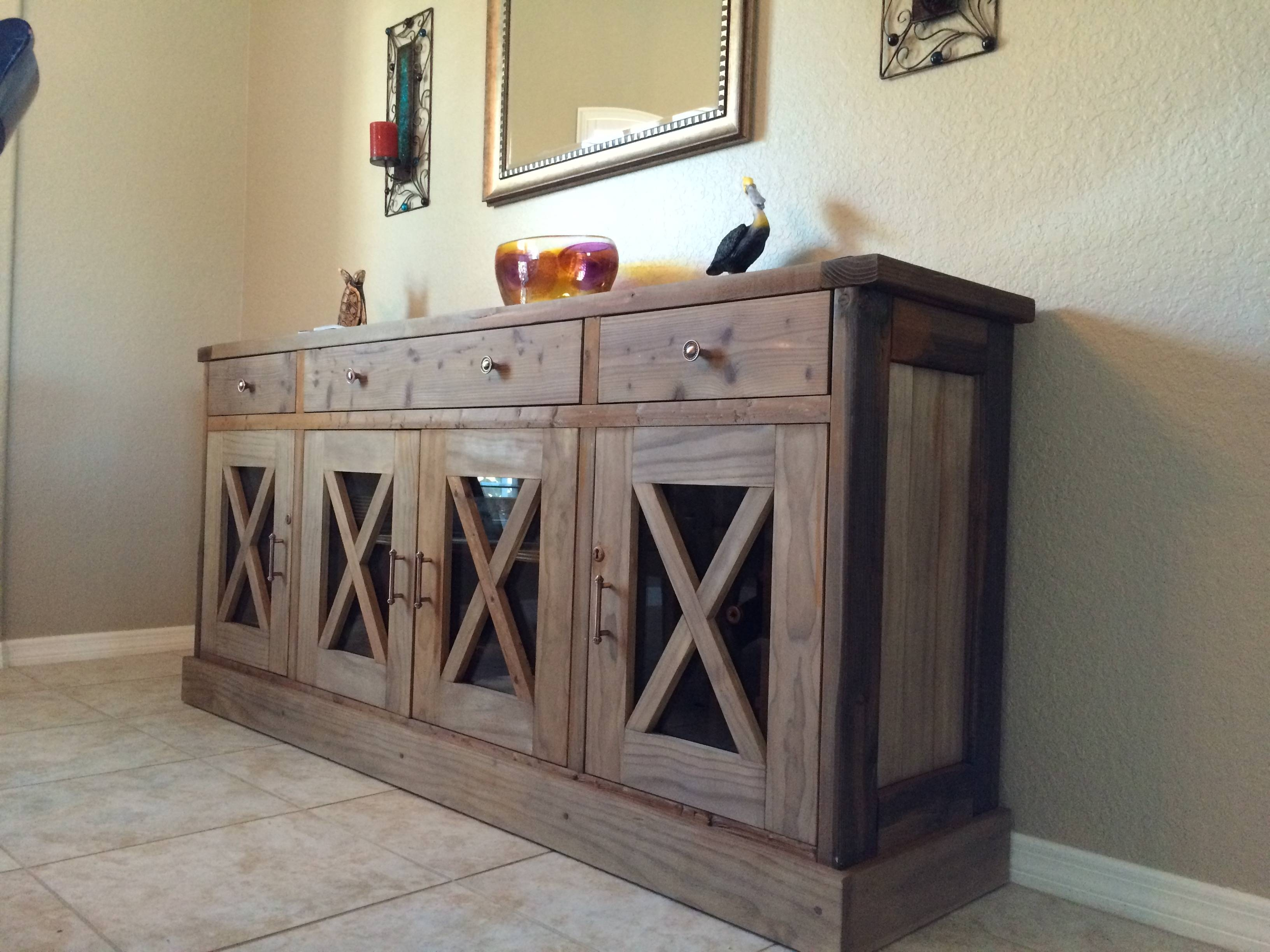 Ana White | Dining Room Sideboard – Diy Projects Intended For 2018 Diy Sideboards (#1 of 15)