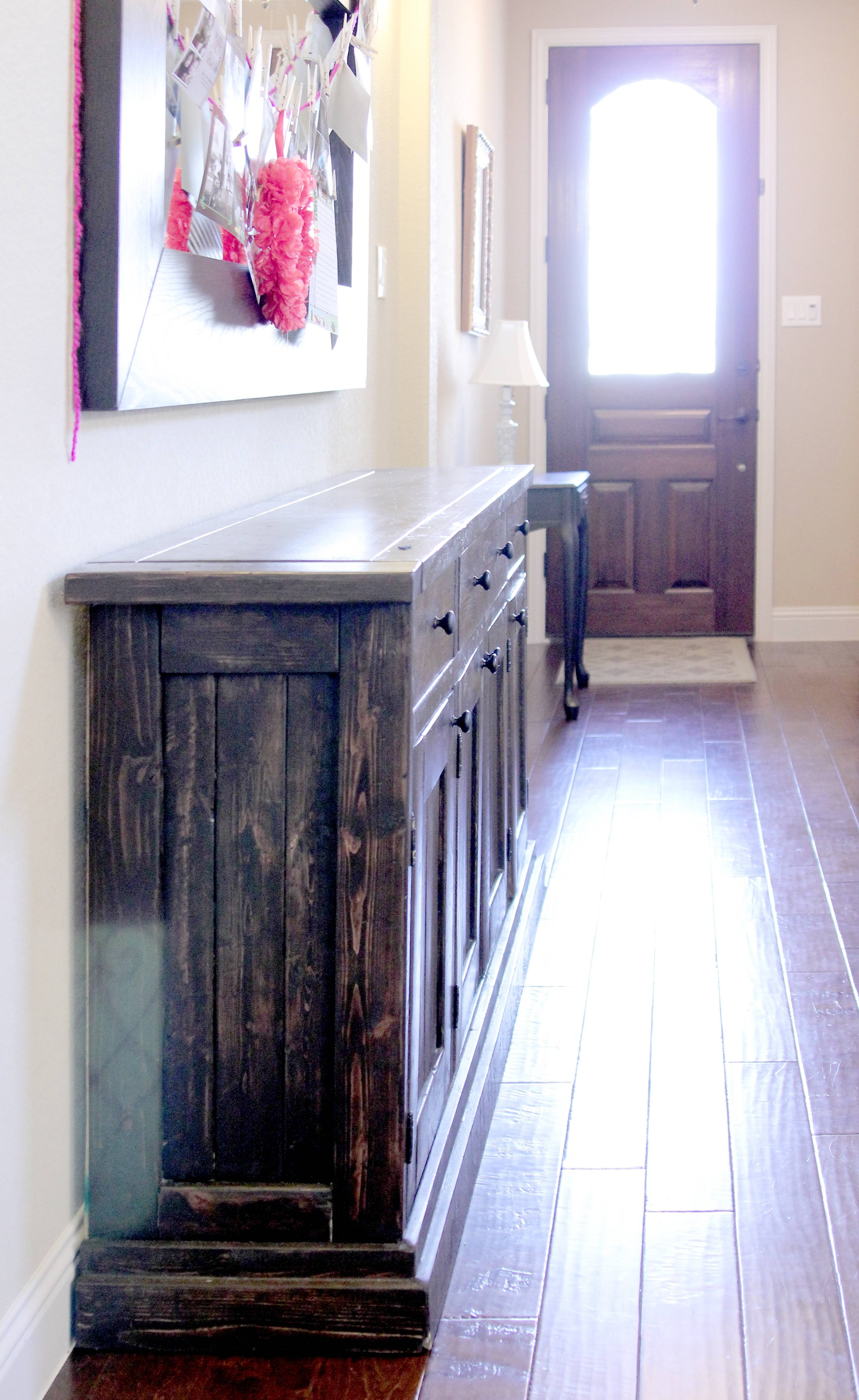 Ana White | Rustic Sideboard / Buffet Table – Diy Projects Inside Newest Diy Sideboards (#4 of 15)