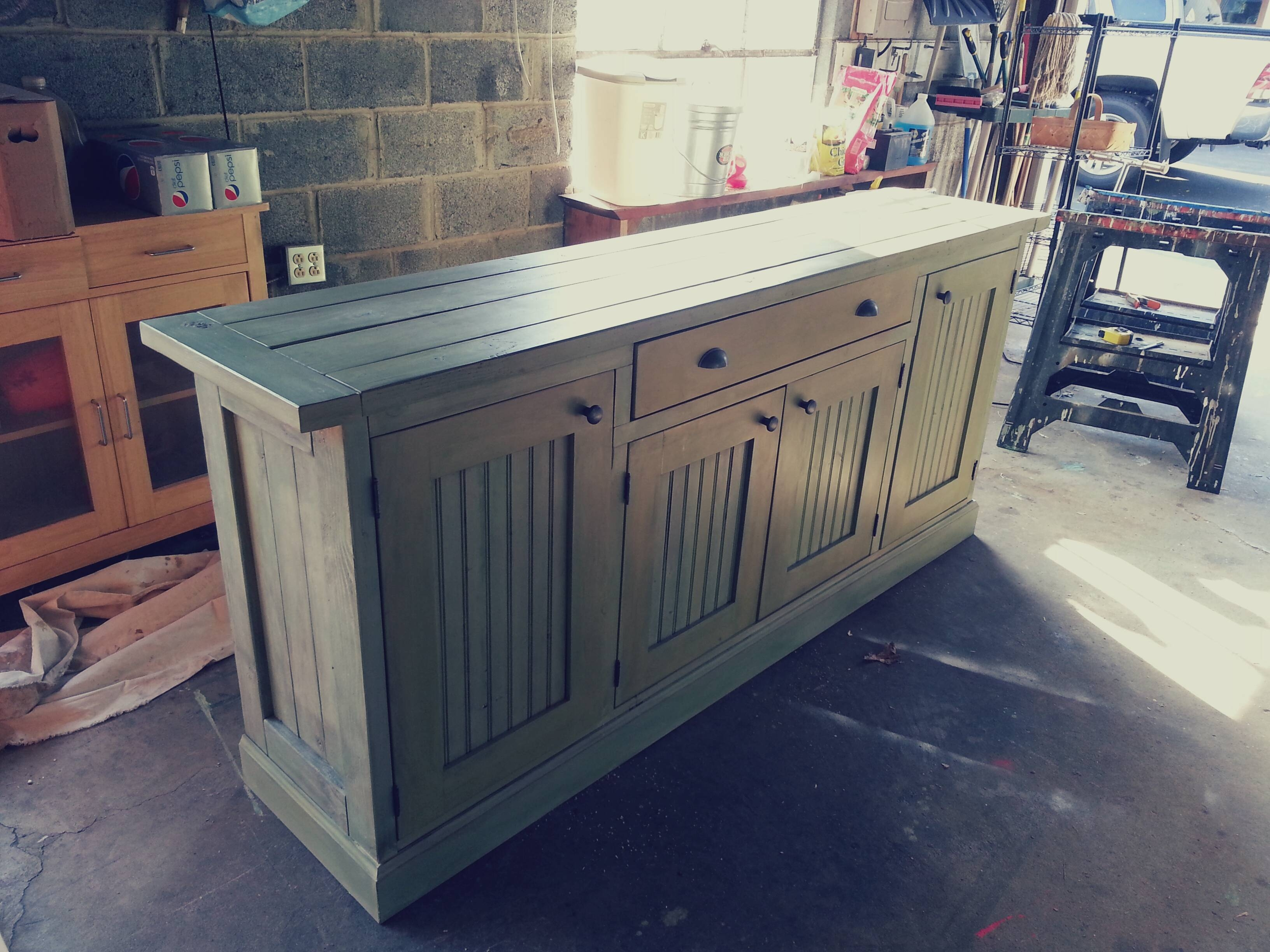Ana White   Rustic Sideboard – Diy Projects For Most Popular Rustic Sideboard Furniture (View 8 of 15)
