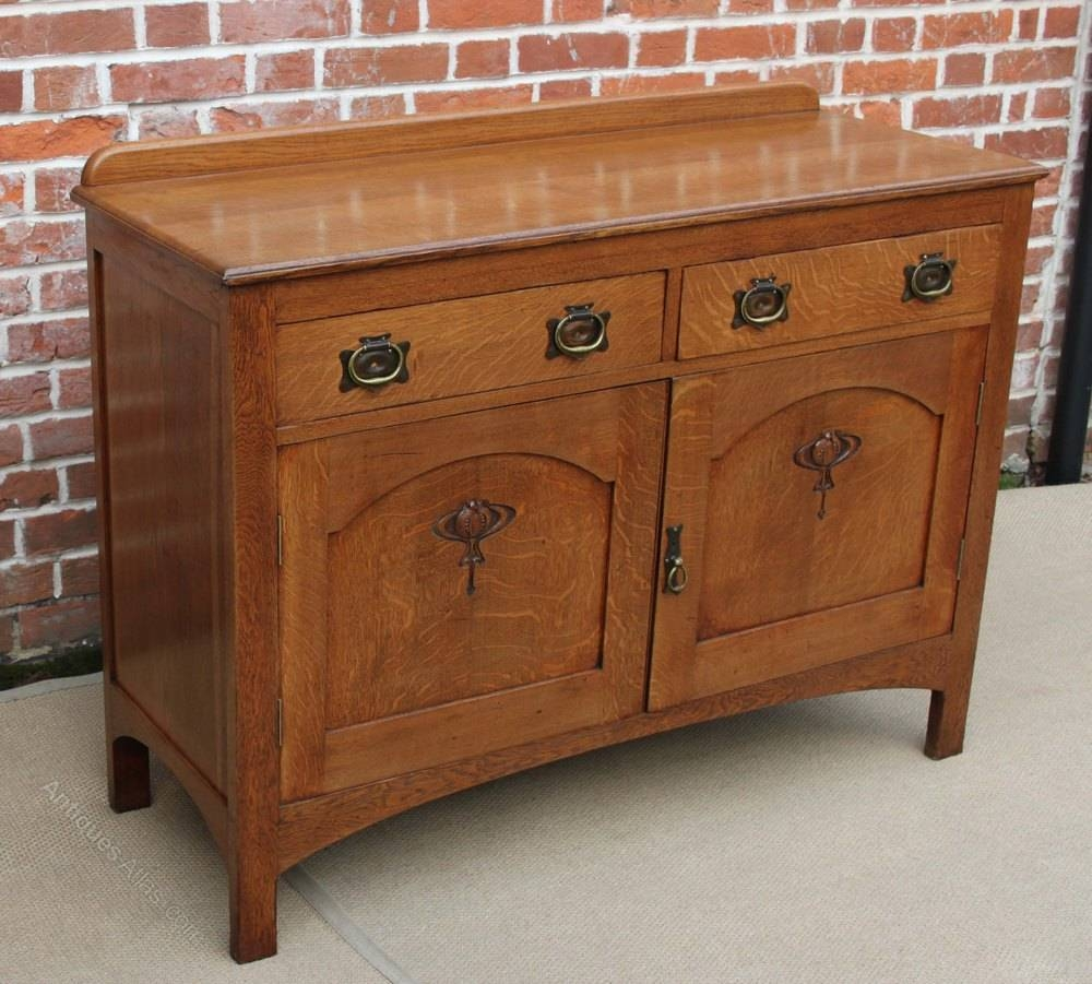 Antique Buffet Sideboard Dresser With Regard To Latest Buffet Sideboard Servers (#1 of 15)