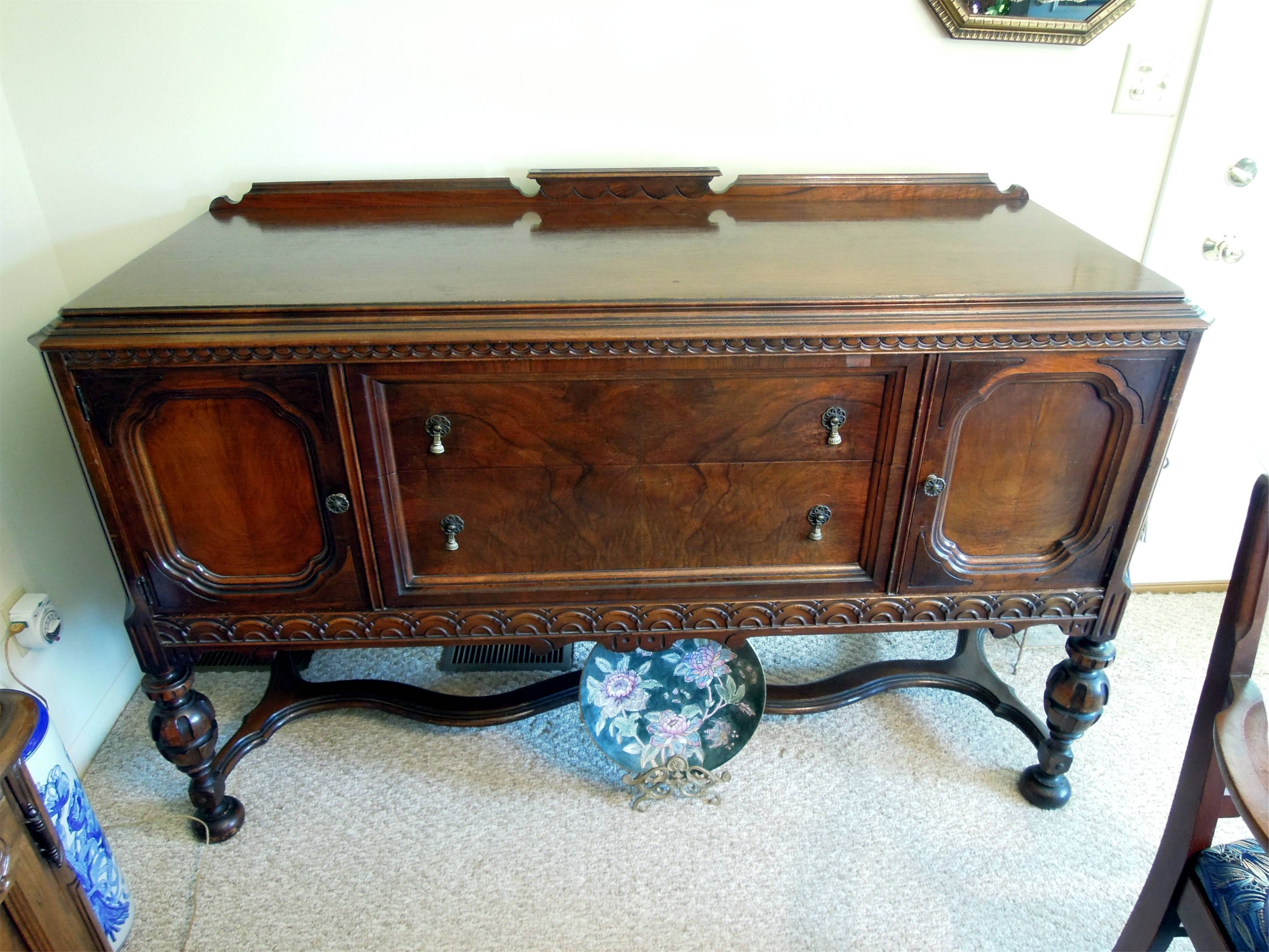 Antique Buffet Sideboard Elegant And Furniture Cozy Fabrica Carpet Pertaining To 2017 Antique Buffet Sideboards (#3 of 15)