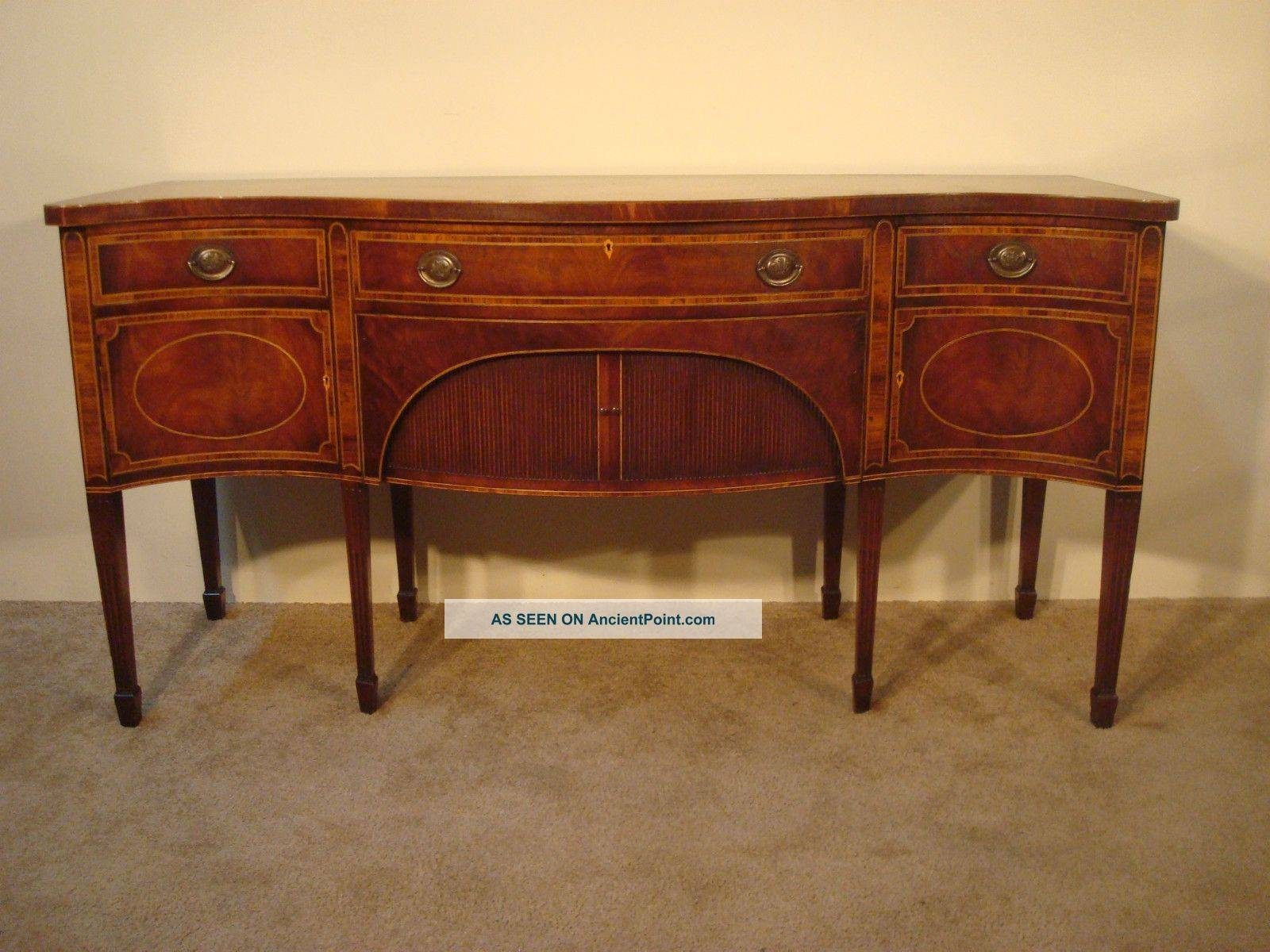 Antique Mahogany Furniture Within 2018 Hepplewhite Sideboards (#4 of 15)