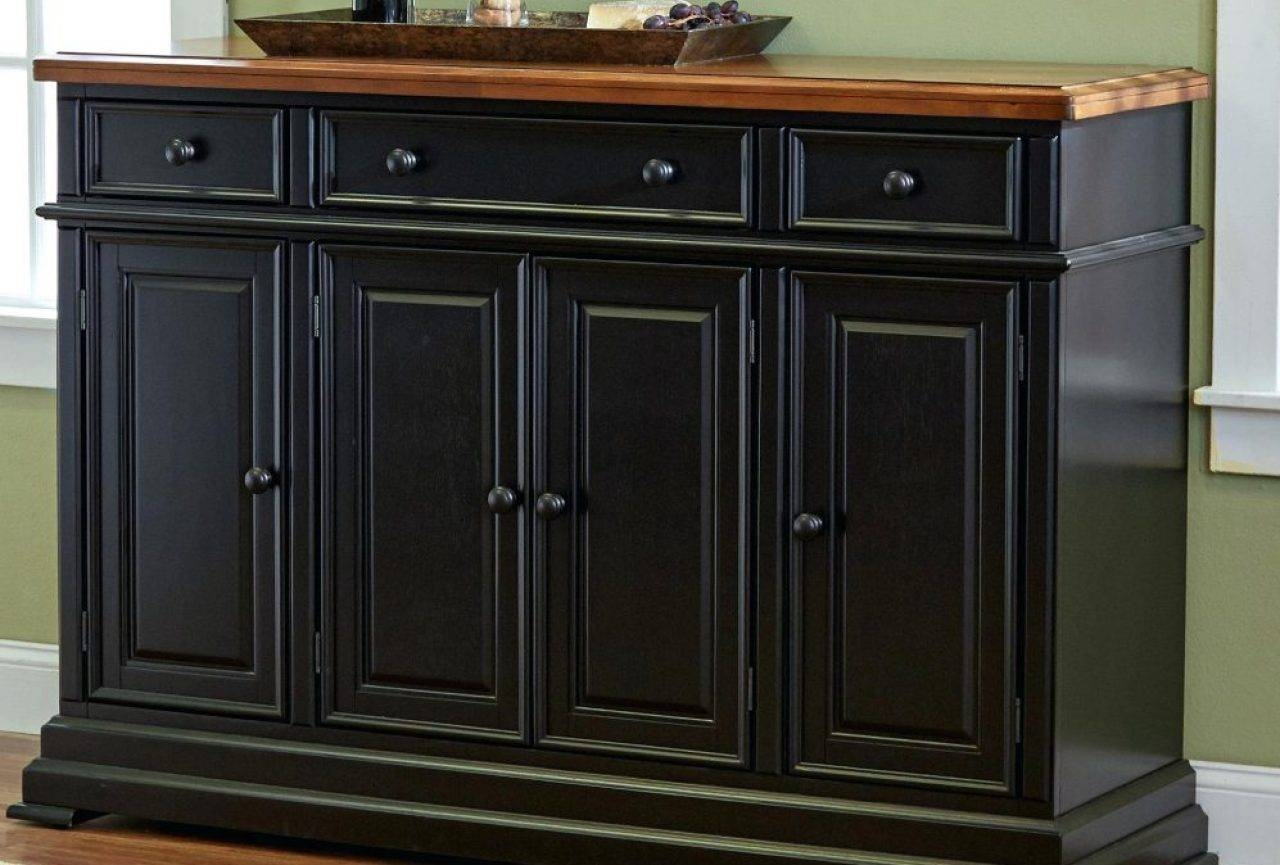 Antique Sideboards And Buffets White Buffet Hutch Dining Buffet Throughout Most Popular Sideboards With Hutch (#1 of 15)