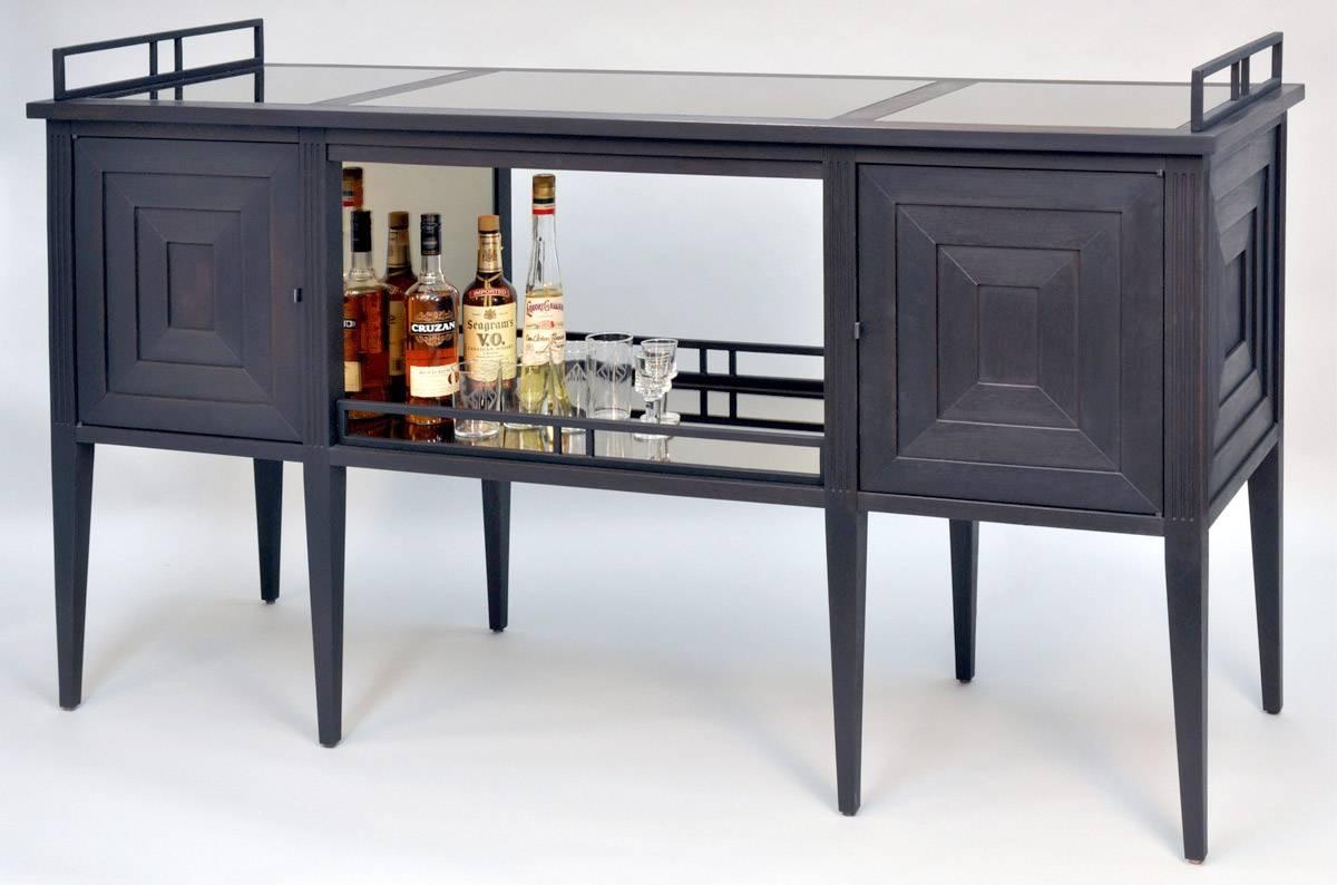 Art Deco Bar Cabinet | Dorset Custom Furniture | Dan Mosheim | Vermont For 2018 Sideboard Bar Cabinet (View 8 of 15)