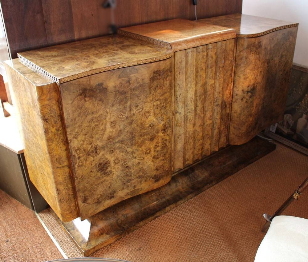 Art Deco Sideboard   266297   Sellingantiques.co (#4 of 15)