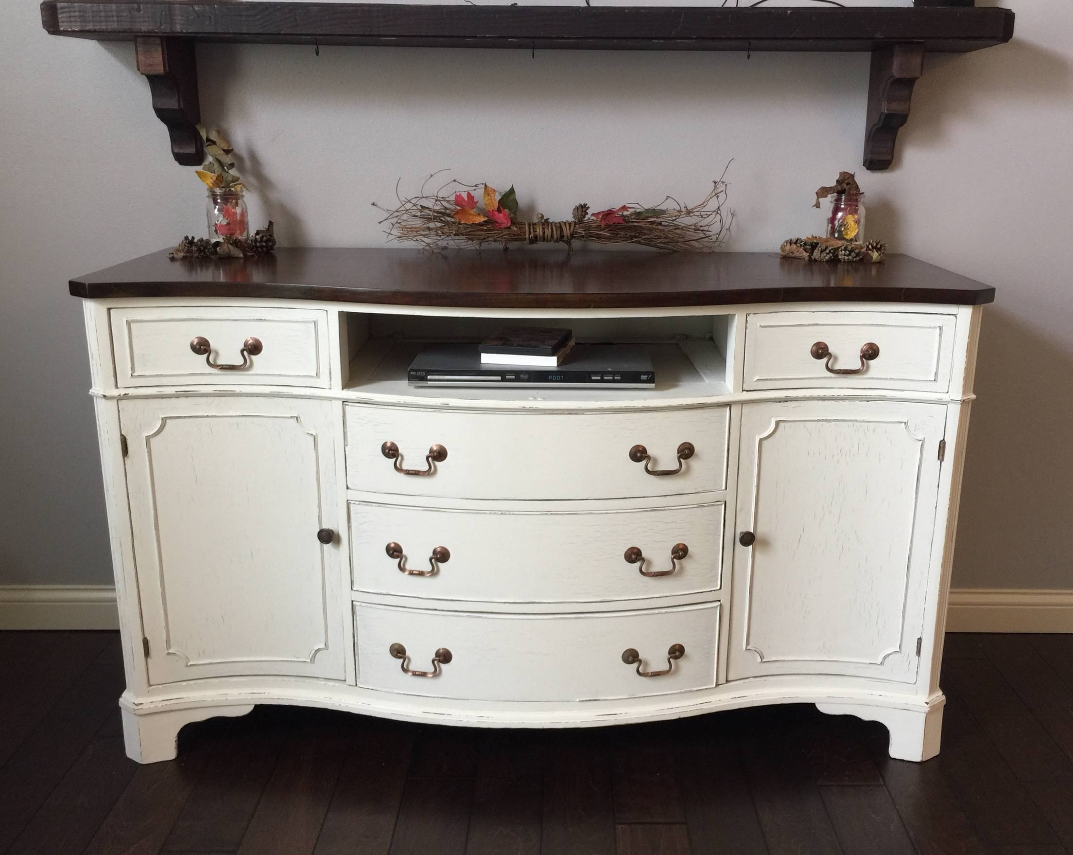Awesome Distressed Buffet Sideboard – Bjdgjy Pertaining To 2018 Distressed Buffet Sideboards (#4 of 15)