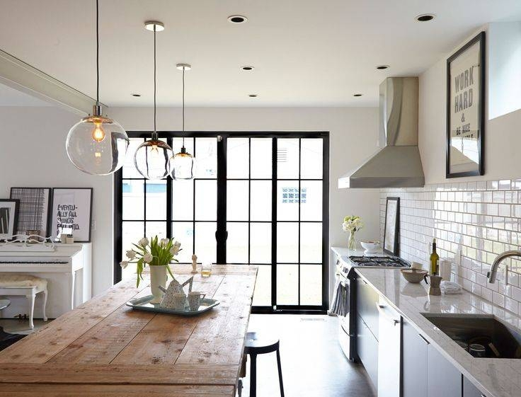 Awesome Kitchen Pendant Lights Contemporary – Liltigertoo Throughout Most Current Pendant Lights For Kitchen (View 3 of 15)