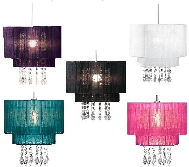 Beaded Chandelier Lamp Shades – Buzzmark For Most Recently Released Beaded Pendant Light Shades (#6 of 15)