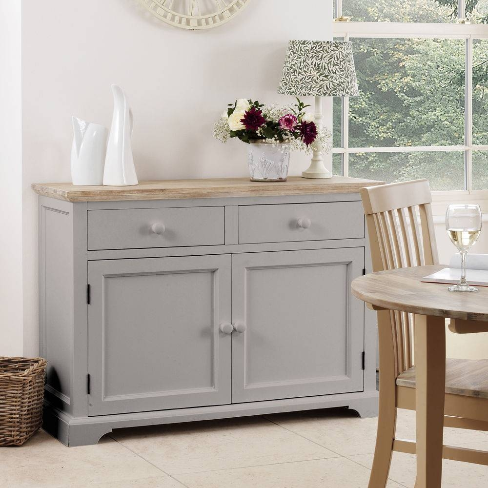 Beautifully Painted Rooms, Grey Shabby Chic Sideboard Vintage With Most Recently Released Green Sideboards (#1 of 15)