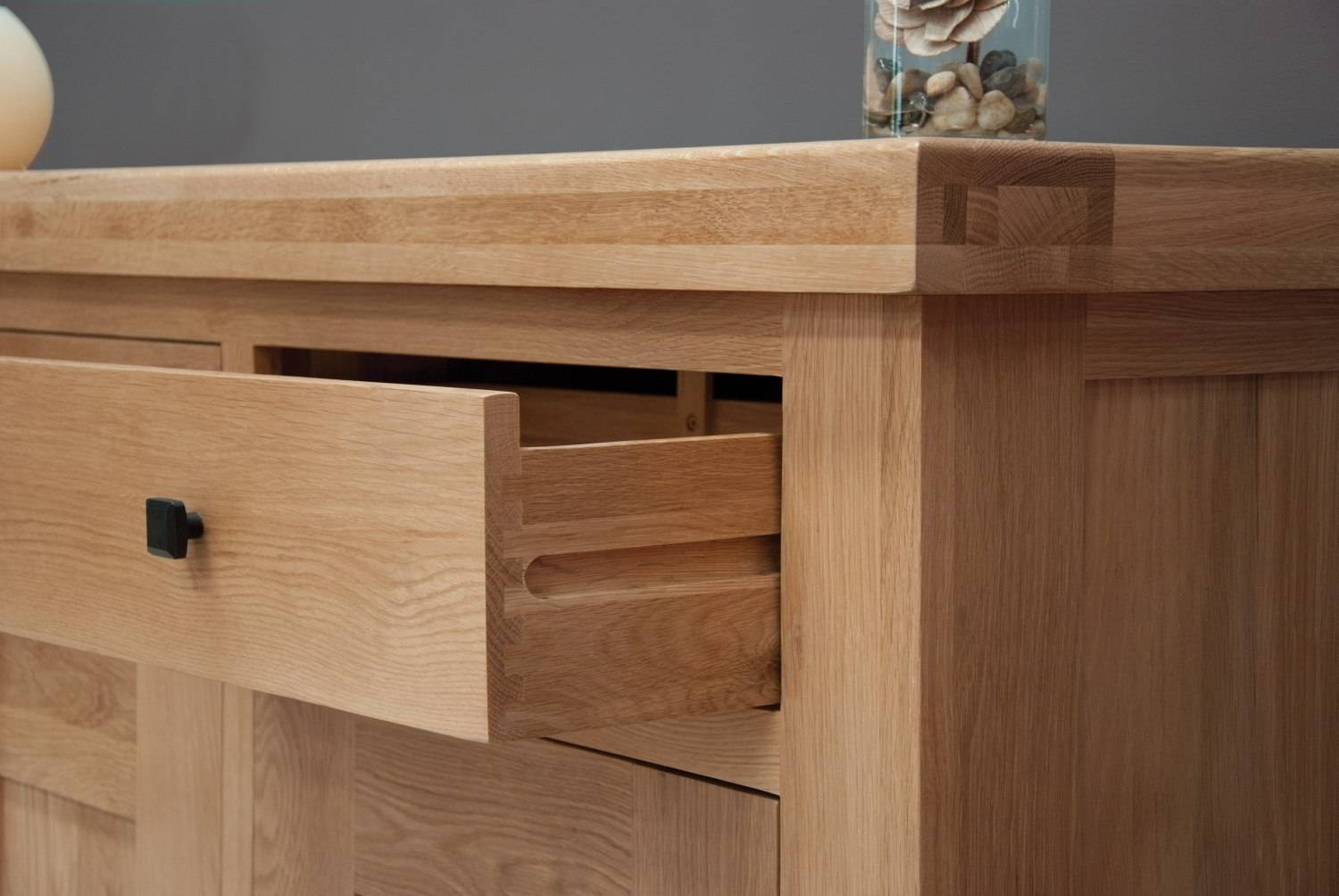 Belgrave Solid Premium Oak Dining Room Furniture Extra Large Throughout Most Current Extra Large Oak Sideboards (View 9 of 15)