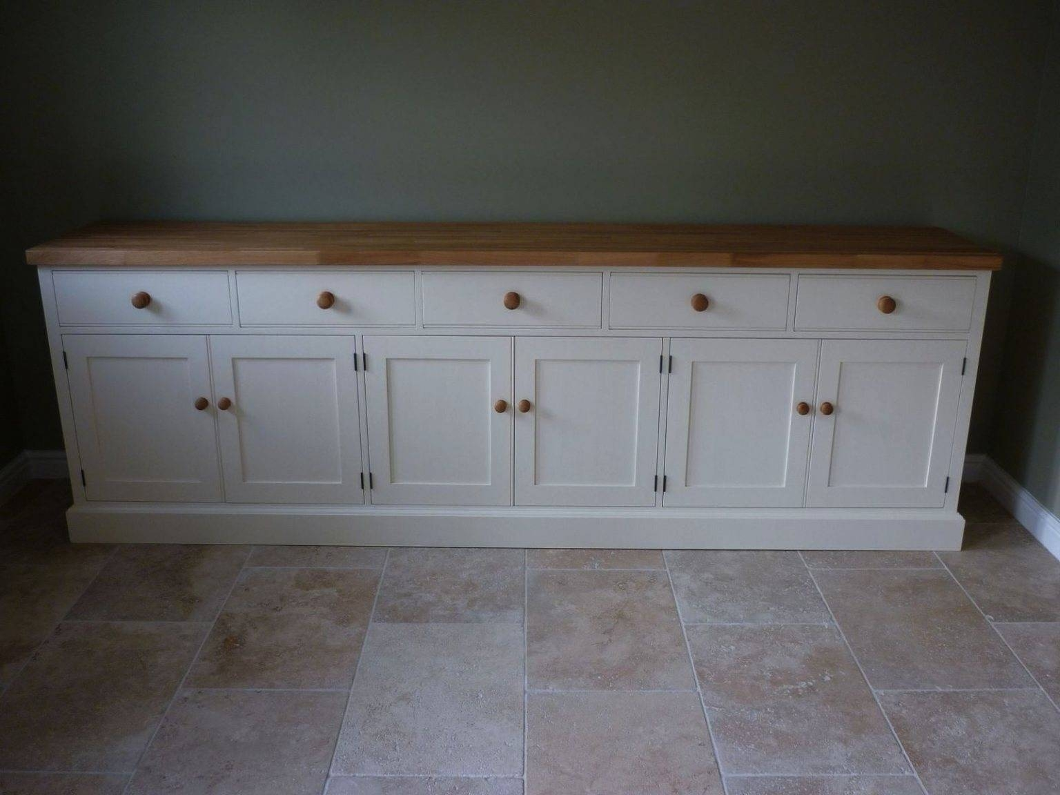 Bespoke Painted Cotswold Sideboard – Solid Wood & Painted Made To Pertaining To Most Popular Bespoke Sideboards (#4 of 15)