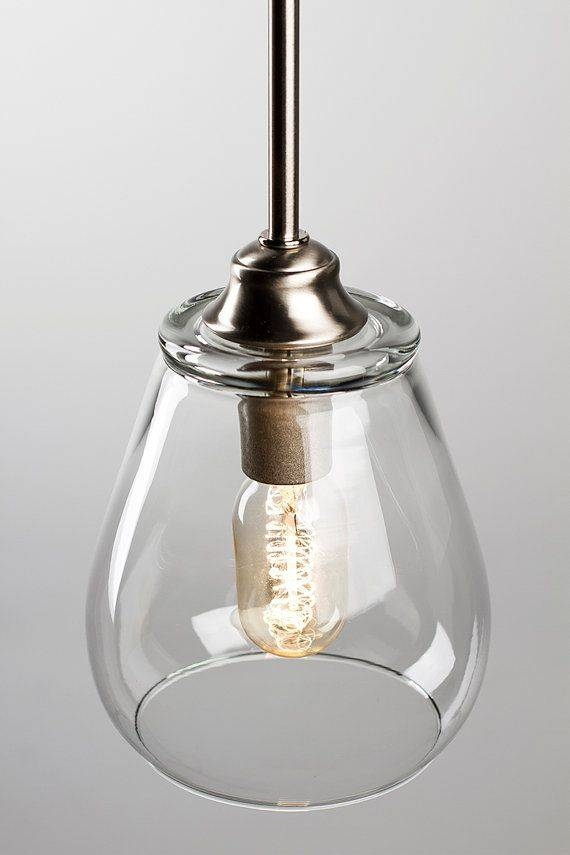 Best 25+ Pendant Light Fixtures Ideas On Pinterest | Rustic Regarding Most Recently Released Glass Pendant Lights With Edison Bulbs (#1 of 15)