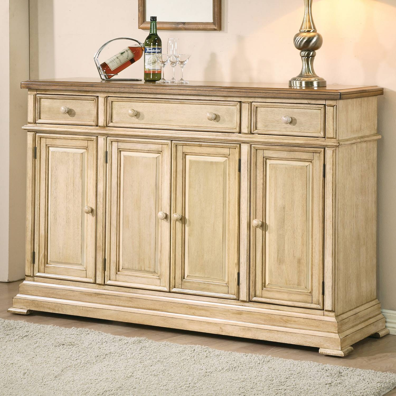 Best Of White Buffet Sideboard – Bjdgjy Throughout Recent Buffet Sideboards (#3 of 15)