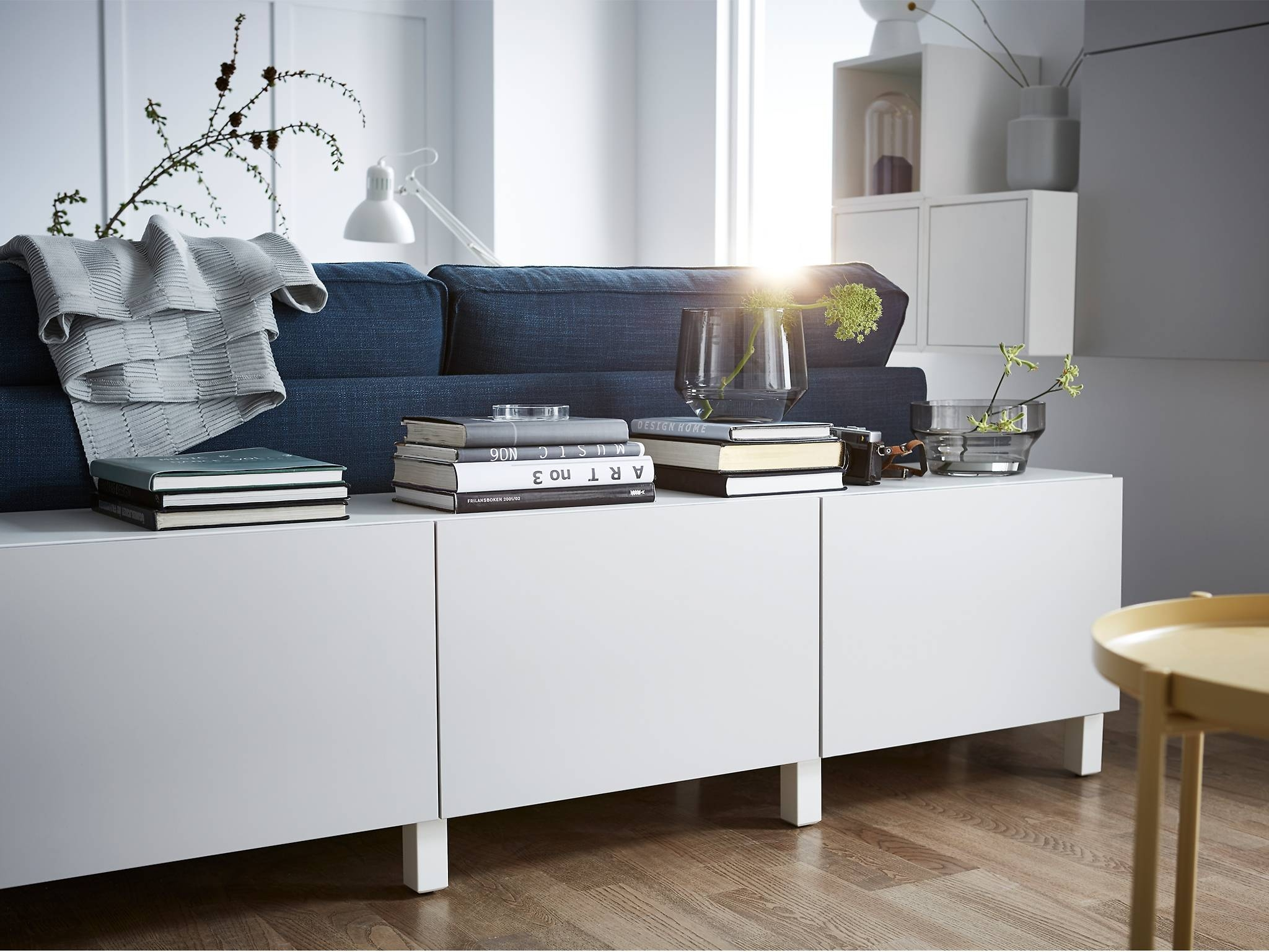 15 inspirations of ikea besta sideboards. Black Bedroom Furniture Sets. Home Design Ideas