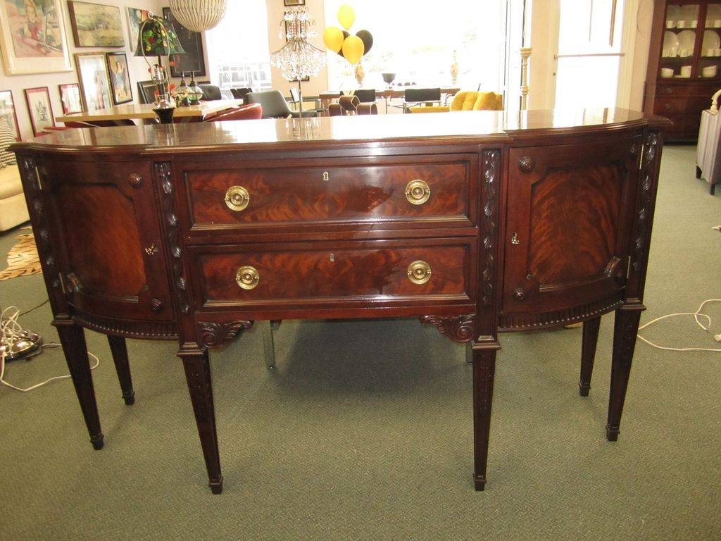 Birmingham Dining Room Buffet With Current Dining Room Sideboards (#1 of 15)