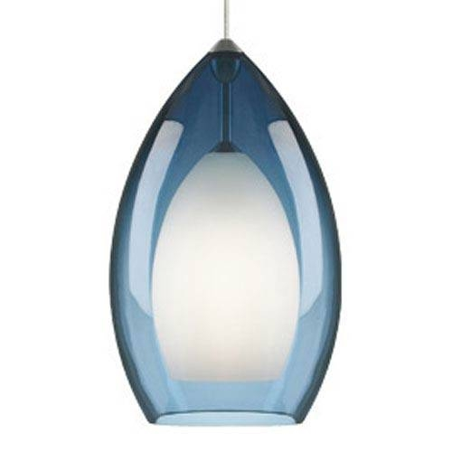 Blue Mini Pendant Lighting | Bellacor Throughout Most Popular Blue Glass Pendant Lights (#6 of 15)