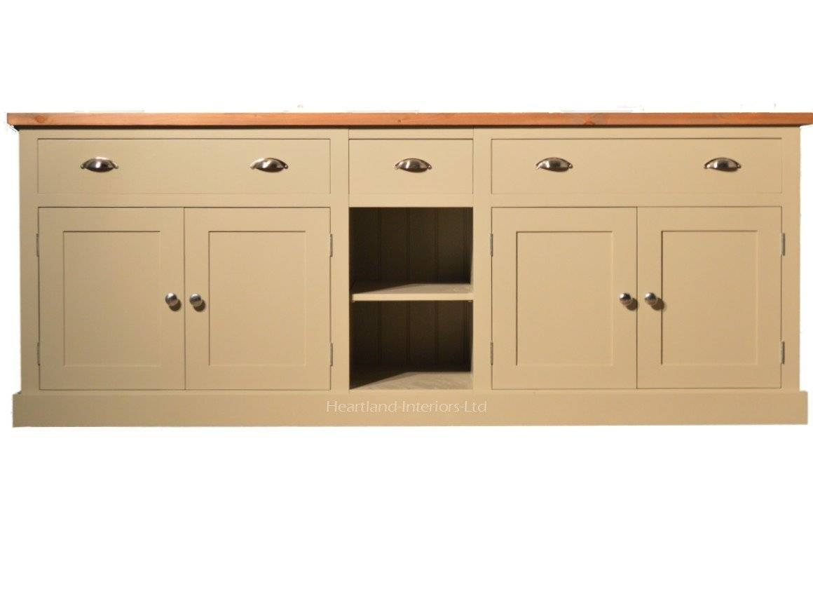 "Bordeaux F&b Painted 7Ft Wide ""extra Deep"" Sideboard With Drawers With 2018 Extra Deep Sideboards (#8 of 15)"