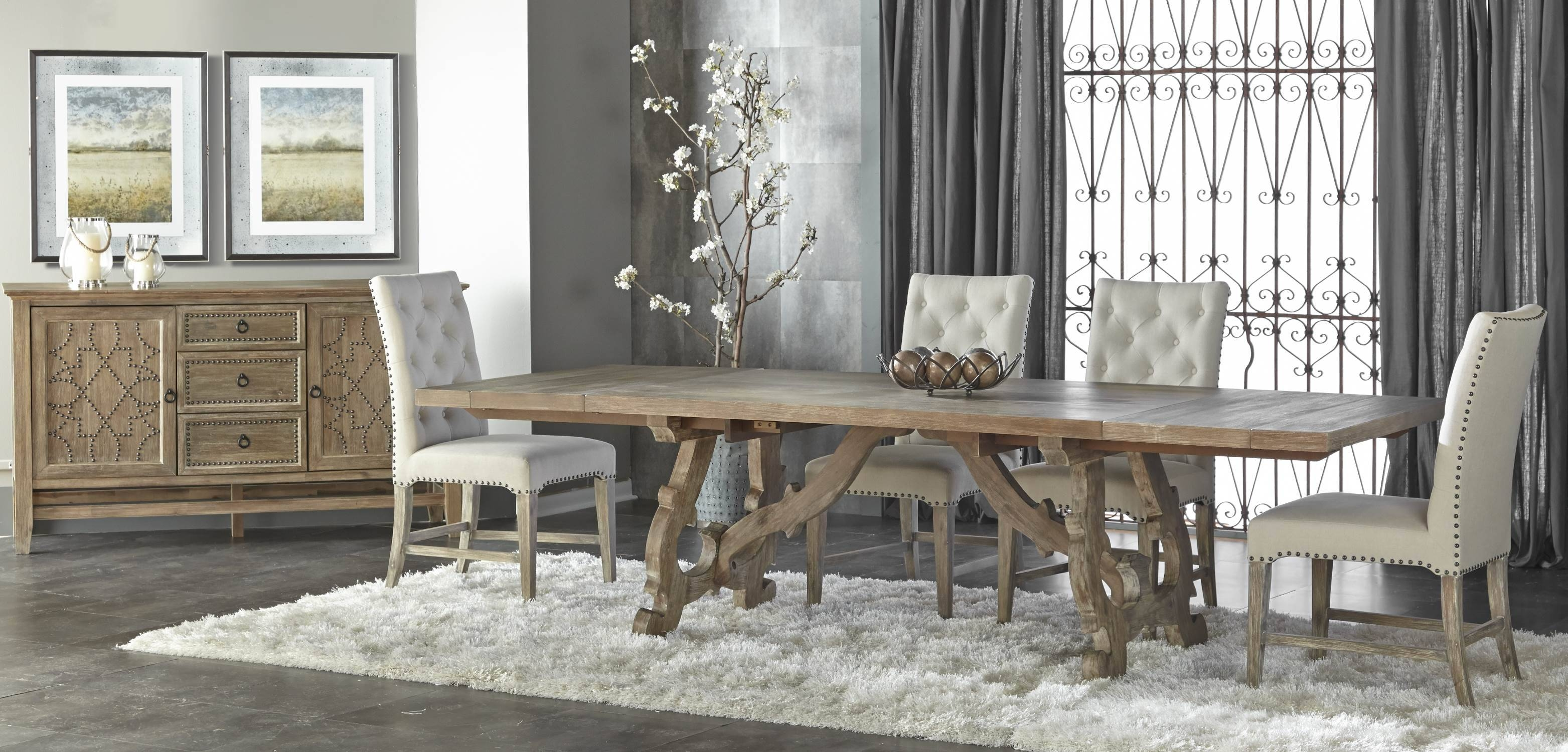 Braxton Sideboardorient Express With Regard To Latest Dining Room Sets With Sideboards (#2 of 15)