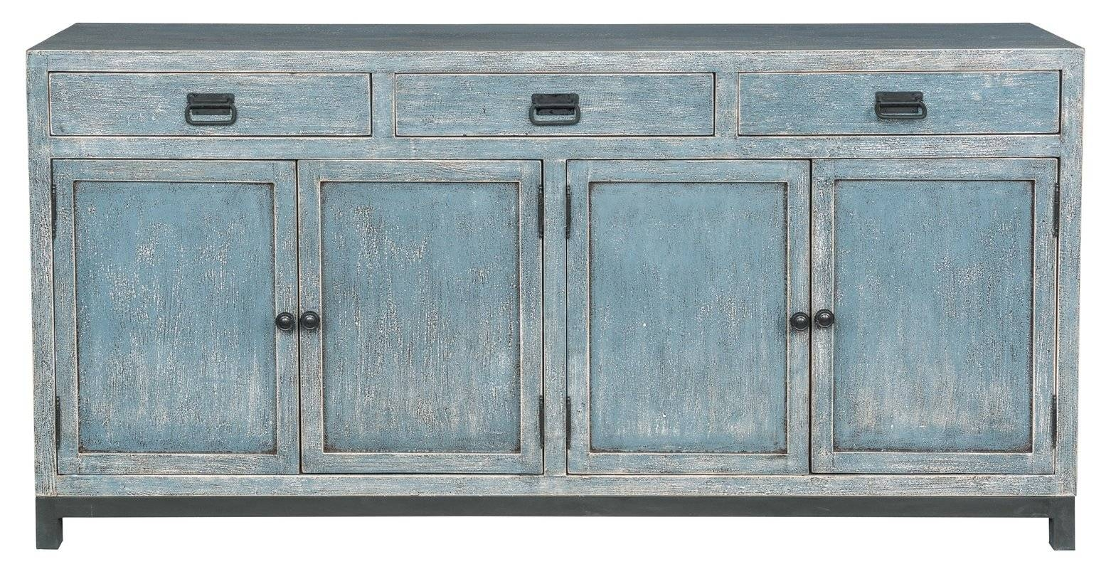 Breakwater Bay Gladeview Sideboard & Reviews | Wayfair With Best And Newest Turquoise Sideboards (#4 of 15)