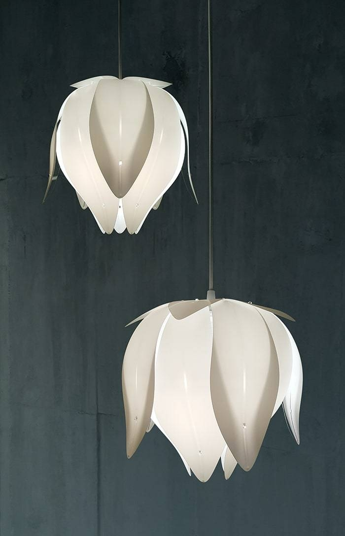 Bud Flower Pendant Light | Id Lights Within Most Up To Date Flower Pendant Lights (#3 of 15)