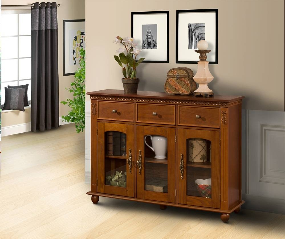 Buffet Lamps Shallow Buffet Black Sideboards For Sale Credenzas With Most Popular Shallow Buffet Sideboards (#3 of 15)