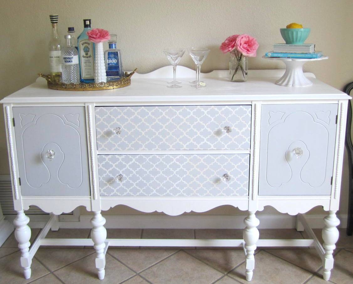 Buffet Sideboard | House To Home Blog Throughout Current Painted Sideboards And Buffets (#2 of 15)