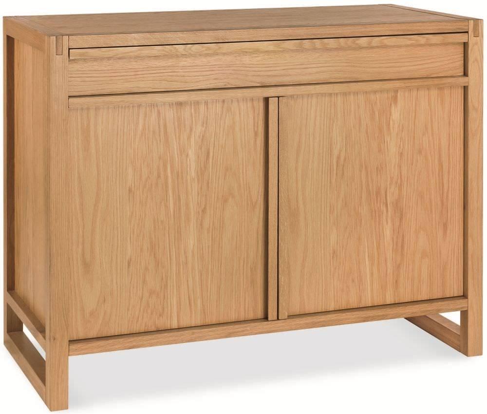 Buy Bentley Designs Studio Oak Sideboard – Narrow Online – Cfs Uk In Current Small Narrow Sideboards (#2 of 15)
