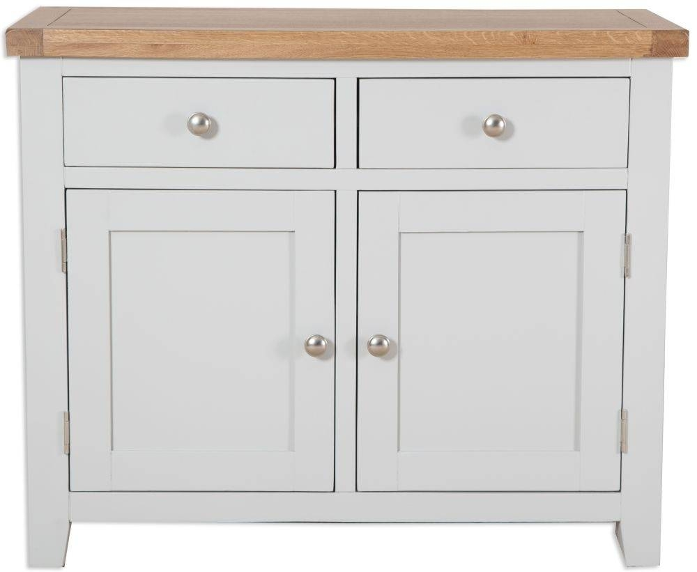 Buy Perth French Grey Sideboard – 2 Door Online – Cfs Uk Intended For Newest 2 Door Sideboards (#2 of 15)