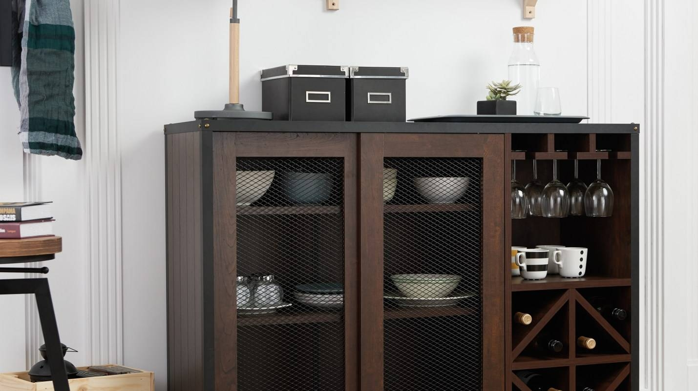 Cabinet : Bbi Beautiful Overstock Buffet Amazon Com Iohomes Within Most Recently Released Overstock Sideboards (#4 of 15)