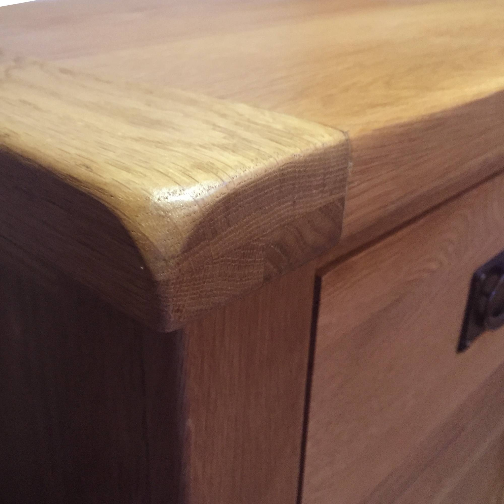 Cardington Extra Large Solid Oak Sideboard Within Latest Extra Large Oak Sideboards (View 10 of 15)