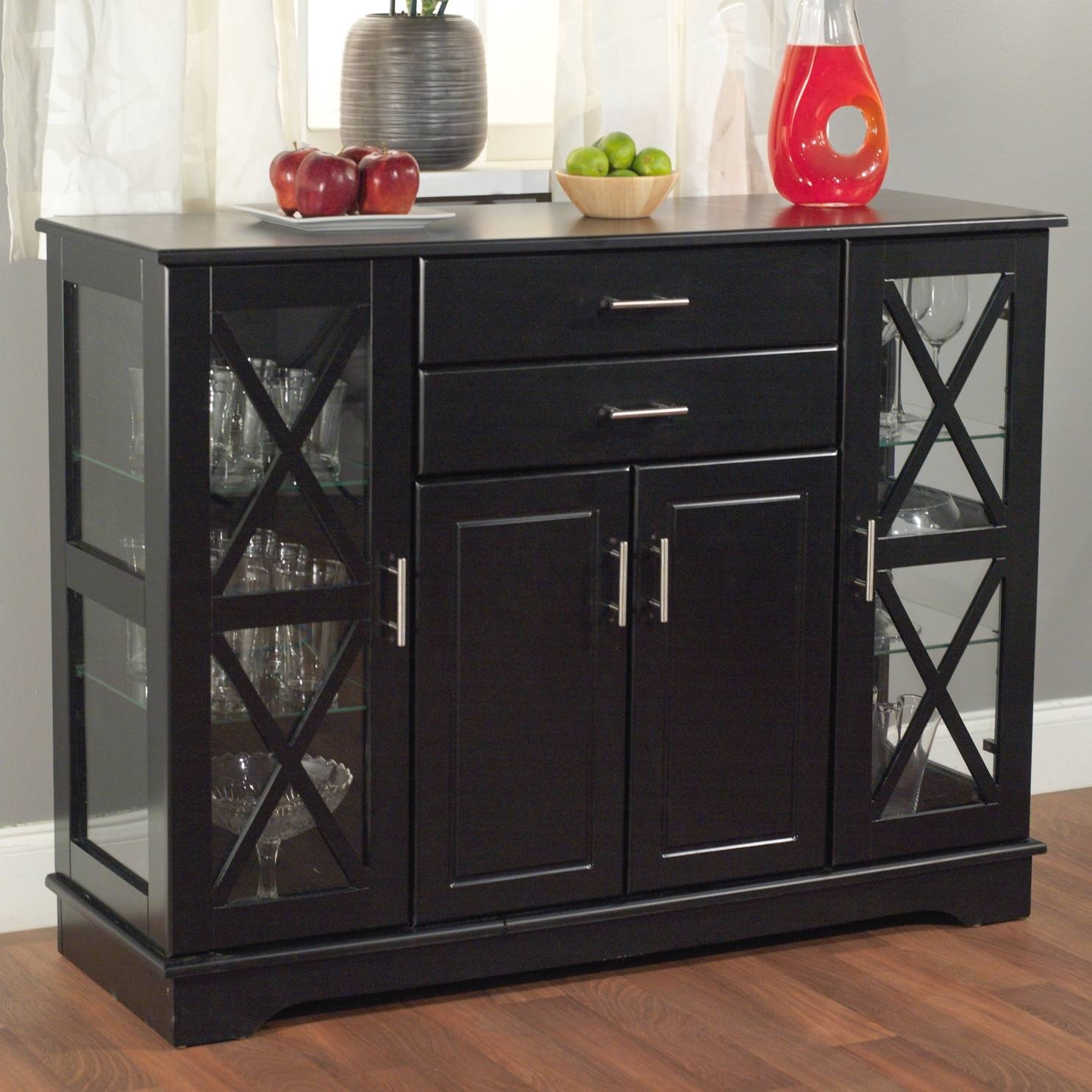 Category In 2018 Glass Buffet Table Sideboards (#3 of 15)