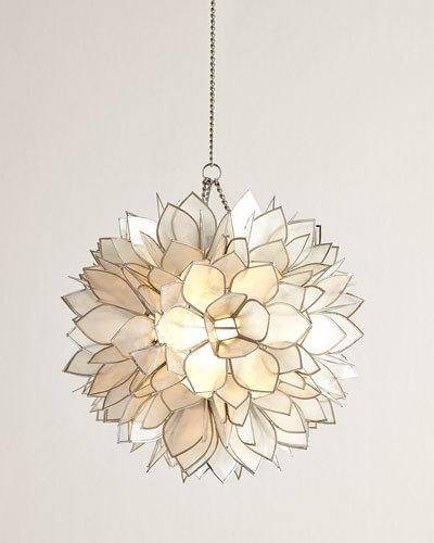 Chandelier & Pendant Lighting At Neiman Marcus In 2018 Flower Pendant Lights (#6 of 15)